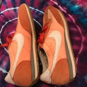 Vintage orange  Women's Nike Cortez size 6.5